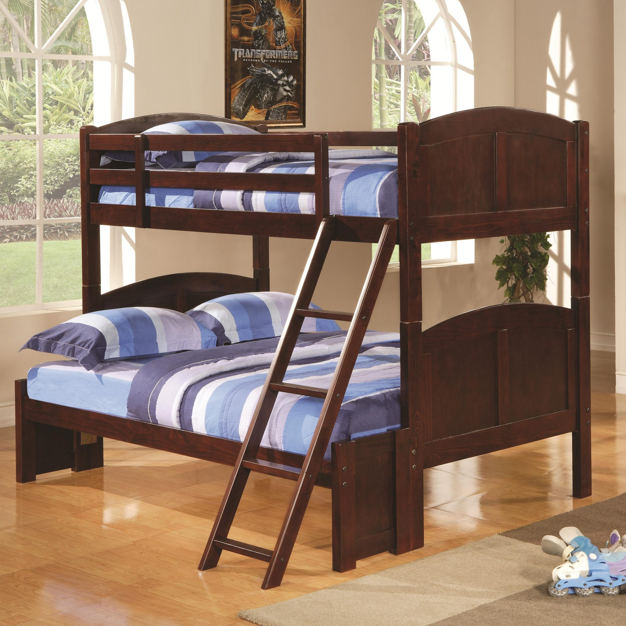 Parker Twin Over Full Panel Bunk Bed